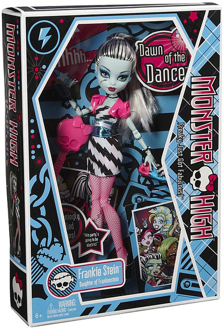 Monster High Dawn of the Dance Frankie Stein 10.5-Inch Doll