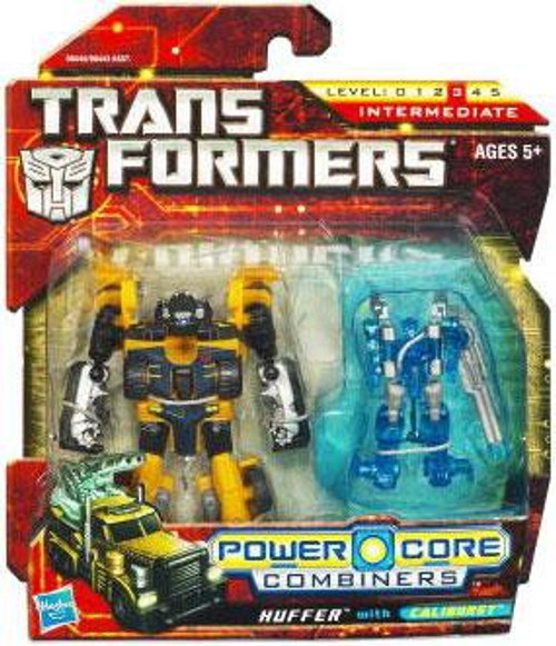 Transformers Power Core Combiners Huffer with Caliburst Action Figure 2-Pack