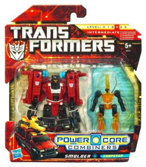 Transformers Power Core Combiners Smolder with Chopster Action Figure 2-Pack