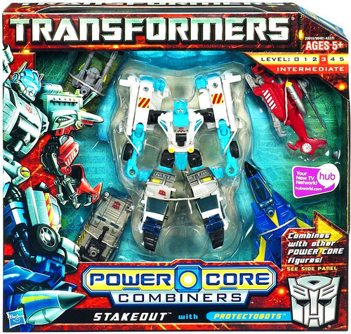 Transformers Power Core Combiners Stakeout with Protectobots Action Figure 2-Pack