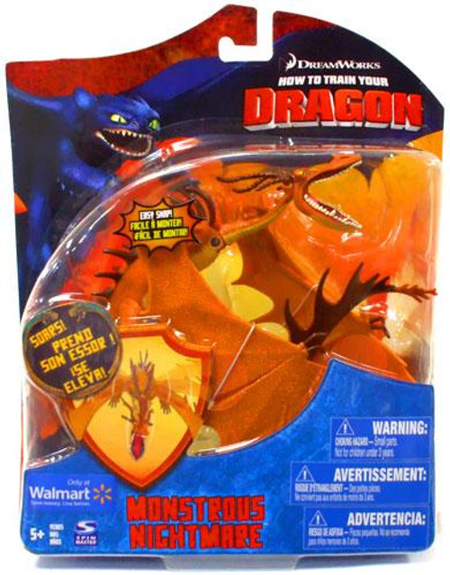 How to Train Your Dragon Series 2 Deluxe Monstrous Nightmare Exclusive Action Figure [Orange]
