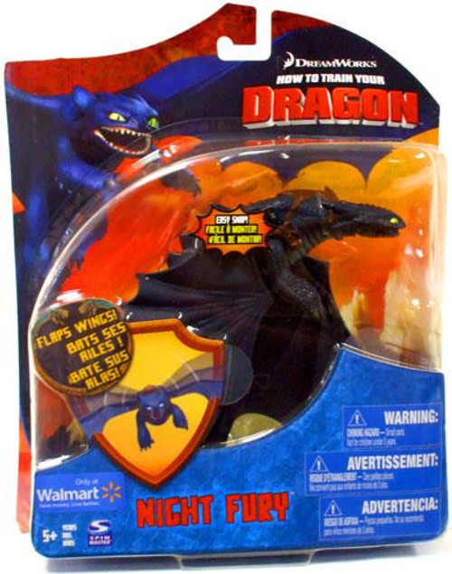 How to Train Your Dragon Series 2 Deluxe Night Fury Exclusive Action Figure [Toothless]