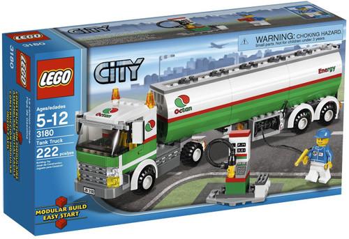 LEGO City Tank Truck Set #3180