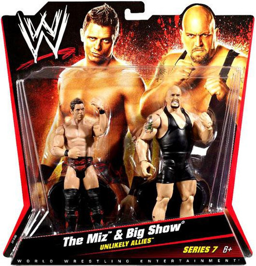 WWE Wrestling Series 7 The Miz & Big Show Action Figure 2-Pack