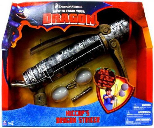 How to Train Your Dragon Hiccup's Dragon Striker Exclusive Roleplay Toy