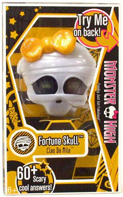 Monster High Cleo De Nile Fortune Skull