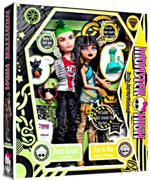Monster High Deuce Gorgon & Cleo De Nile 10.5-Inch Doll 2-Pack