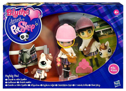 Littlest Pet Shop Blythe Loves Blythe's Sitters Playfully Plaid Figure Set B4, 1616