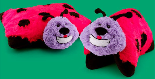 Animal Pillowz Lucy the Lady Bug 18-Inch Plush Pillow