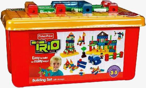 Fisher Price TRIO Building Set with Storage