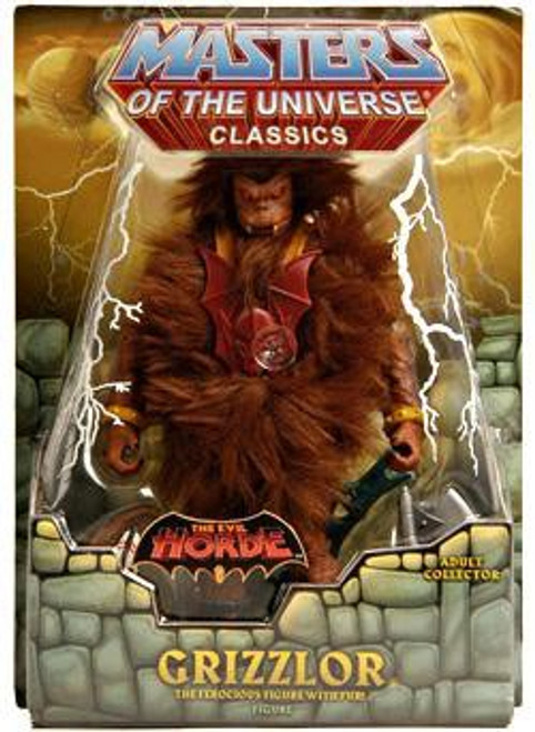 Masters of the Universe Classics The Evil Horde Grizzlor Exclusive Action Figure