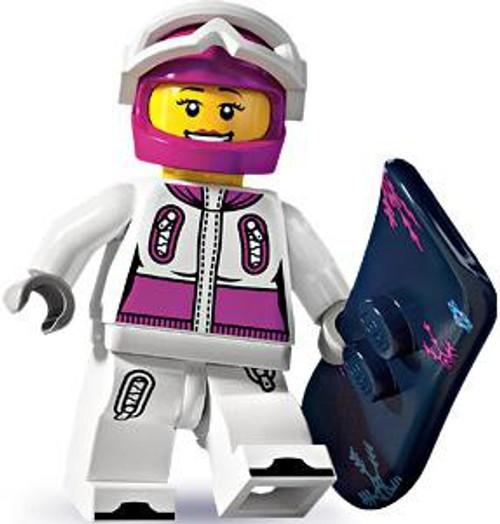 LEGO Minifigures Series 3 Female Snowboarder Minifigure [Loose]