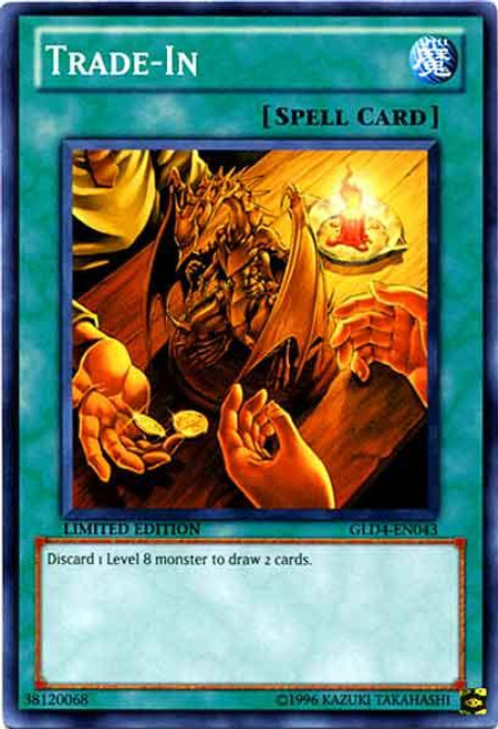 YuGiOh Gold Series 4 2011 Common Trade-In GLD4-EN043