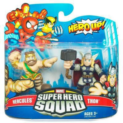 Marvel Super Hero Squad Series 20 Hercules & Thor Action Figure 2-Pack