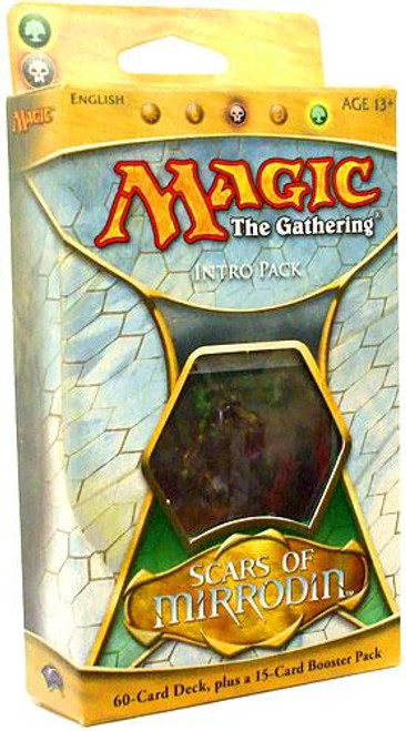 MtG Scars of Mirrodin Phyrexian Poison Intro Pack [Sealed Deck]