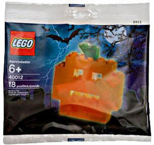 LEGO Pumpkin Exclusive Mini Set #40012 [Bagged]
