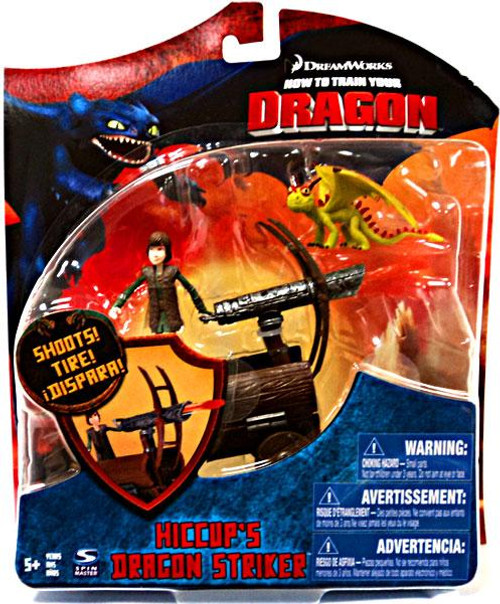 How to Train Your Dragon Series 3 Deluxe Hiccup's Dragon Striker Action Figure