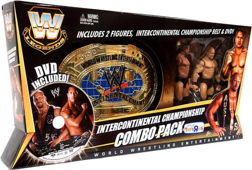 WWE Wrestling Legends Intercontinental Championship Combo Pack Exclusive Action Figures