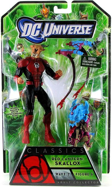 DC Universe Green Lantern Classics Series 2 Red Lantern Skallox or Nite-Lik Action Figure