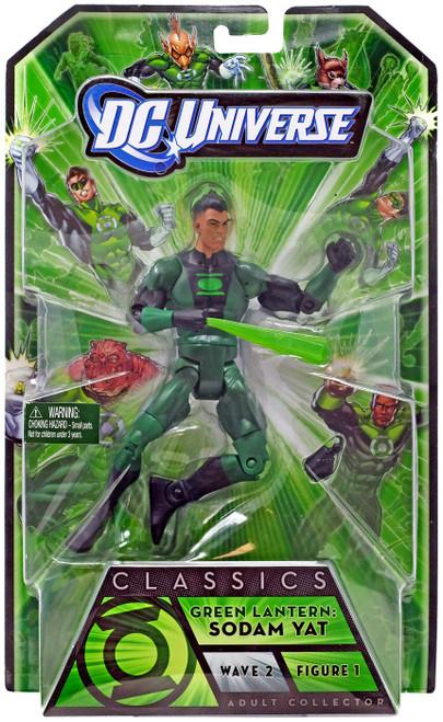 DC Universe Green Lantern Classics Series 2 Sodam Yat Action Figure