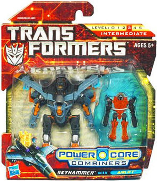 Transformers Power Core Combiners Skyhammer with Airlift Action Figure 2-Pack