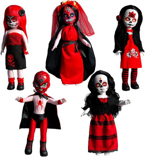 Living Dead Dolls Days of the Dead Series 20 Set of 5 Dolls [Variant]
