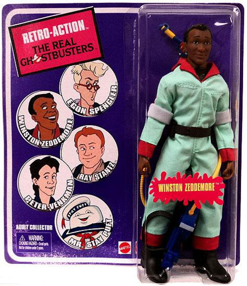 The Real Ghostbusters Retro Action Series 1 Winston Zeddemore Action Figure