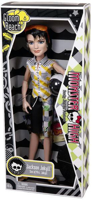 Monster High Gloom Beach Jackson Jekyll 10.5-Inch Doll