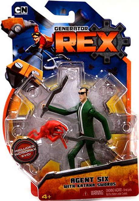 Generator Rex Agent 6 Action Figure