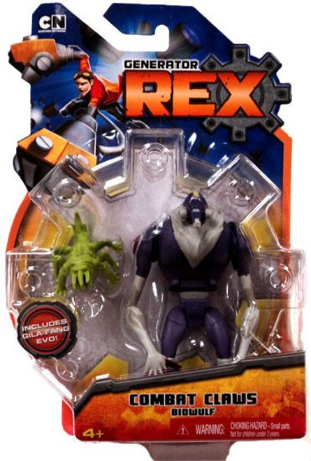 Generator Rex Biowulf Action Figure [Combat Claws]