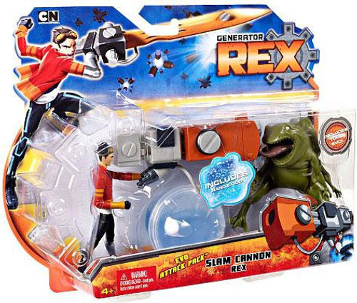 Generator Rex Evo Attack Pack Rex Action Figure [Slam Cannon]