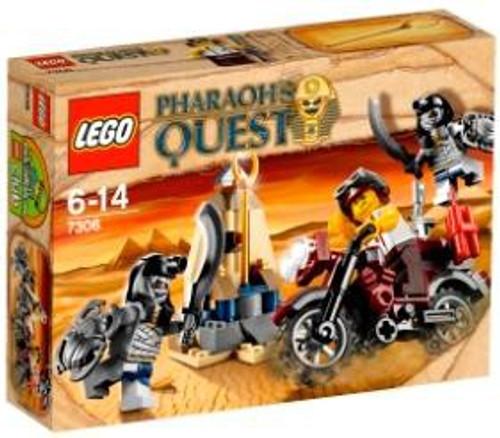 LEGO Pharaoh's Quest Golden Staff Guardians Set #7306