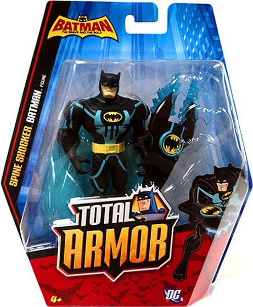 The Brave and the Bold Total Armor Spine Shocker Batman Action Figure