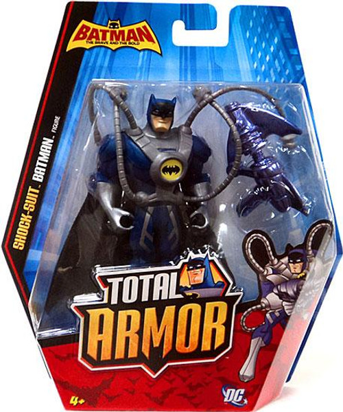 The Brave and the Bold Total Armor Shock-Suit Batman Action Figure