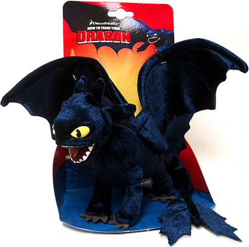 How to Train Your Dragon 8.5 Inch Night Fury Plush [Toothless]