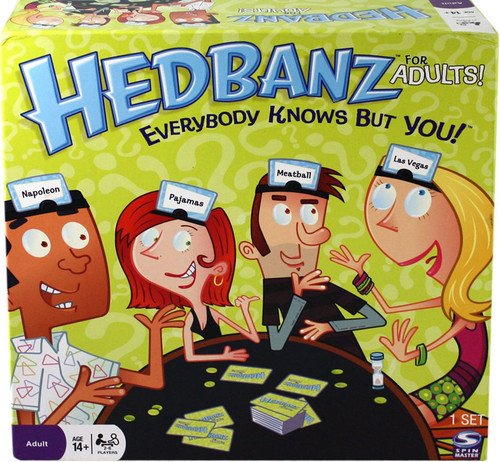 Hedbanz For Adults Board Game