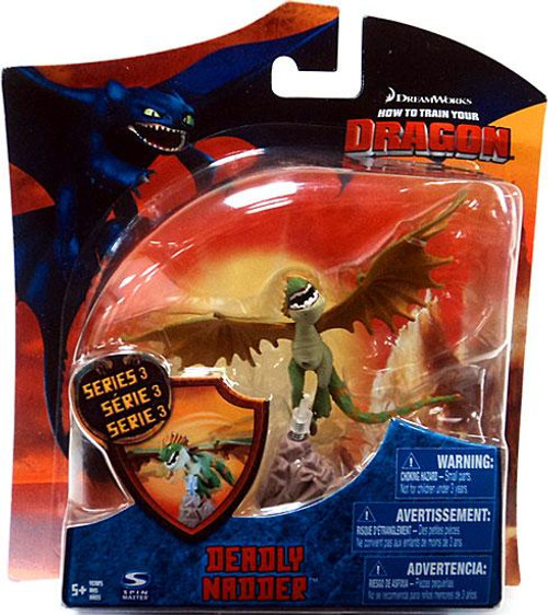 How to Train Your Dragon Series 3 Deadly Nadder Action Figure