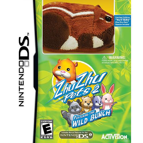 Nintendo DS Zhu Zhu Pets 2: Wild Bunch Exclusive Video Game