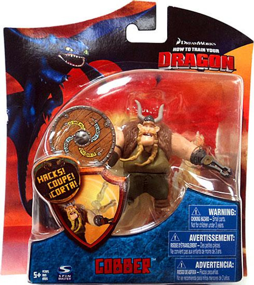 How to Train Your Dragon Series 3 Gobber Action Figure