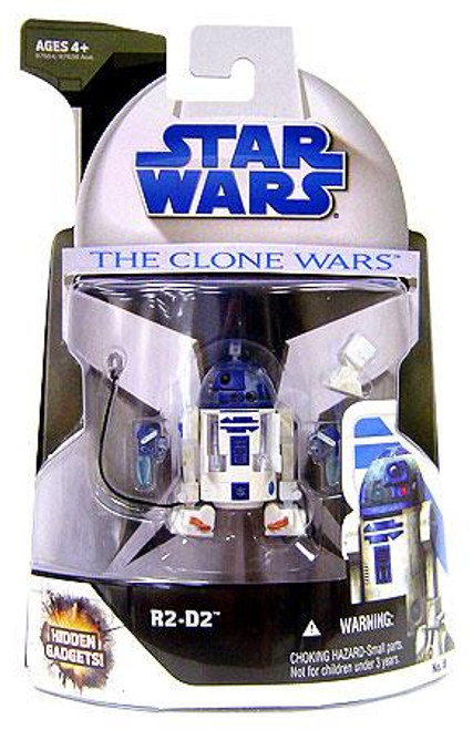 Star Wars The Clone Wars Clone Wars 2008 R2-D2 Action Figure #8