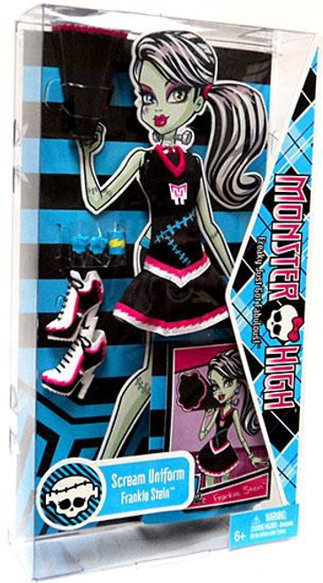 Monster High Scream Uniform Frankie Stein 9-Inch Fashion Pack