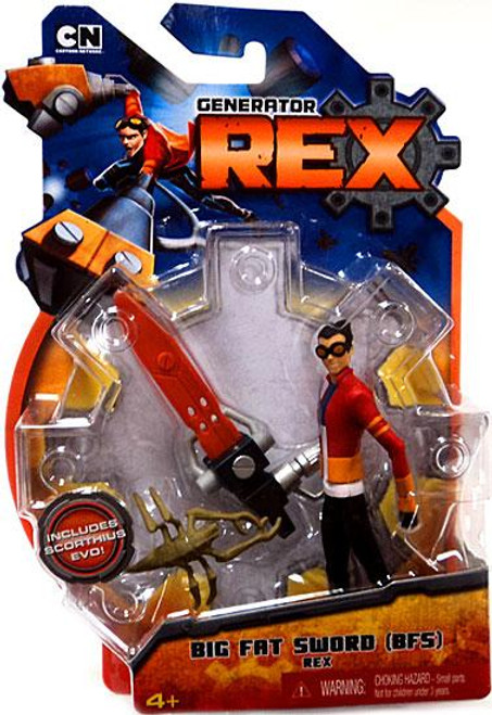 Generator Rex Rex Action Figure [Big Fat Sword]