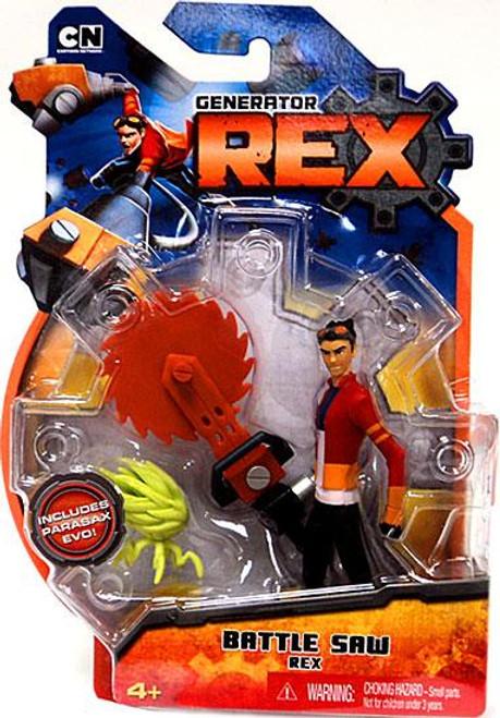 Generator Rex Rex Action Figure [Battle Saw]