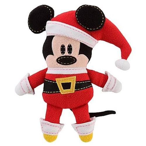 Disney Pook-a-Looz Santa Mickey Mouse Plush Doll
