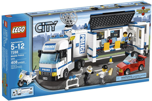 LEGO City Mobile Police Unit Set #7288