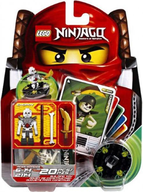 LEGO Ninjago Spinjitzu Spinners Chopov Set #2114