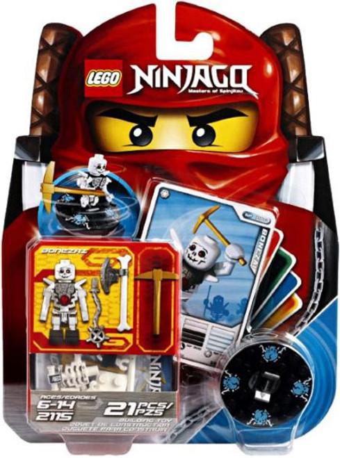 LEGO Ninjago Spinjitzu Spinners Bonezai Set #2115