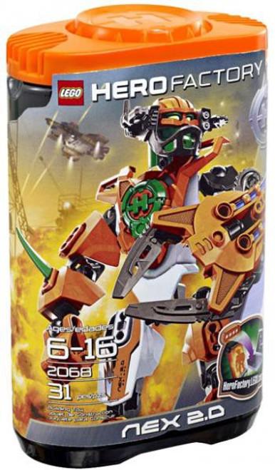LEGO Hero Factory Nex 2.0 Set #2068