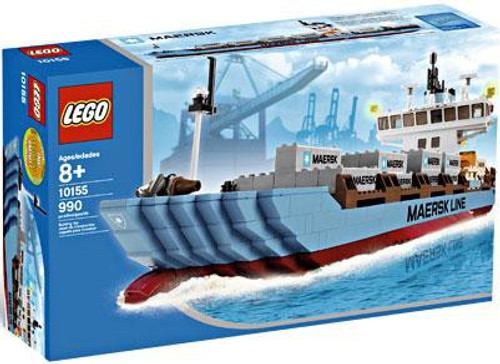 LEGO City Maersk Container Ship Exclusive Set #10155