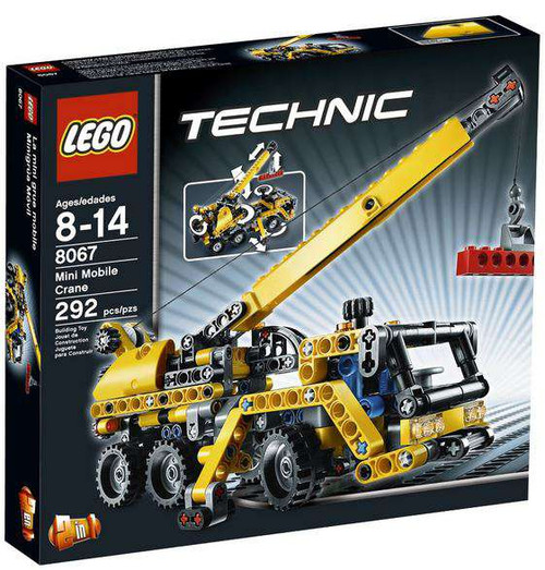 LEGO Technic Mini Mobile Crane Set #8067